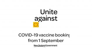 COVID-19 vaccine bookings from 1 September